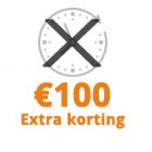 Geen proeftijd +€ -100,00