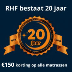 Royal Health Foam bestaat 20 jaar!