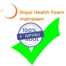 RHF levert 100% gifvrije matrassen en kussens