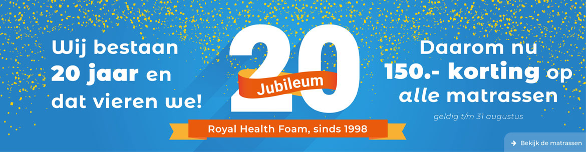 Matrassen van Royal Health Foam