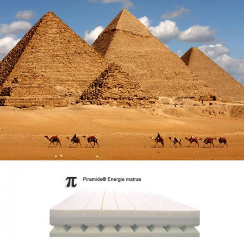 Pyramid energy® matras