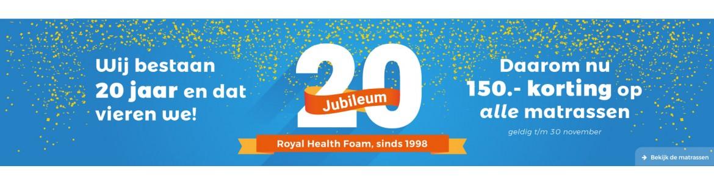20 jarig jubileum