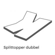 Split dubbel +€ 100,00