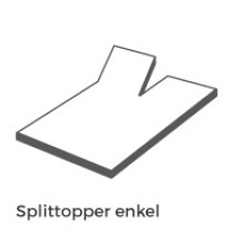 Split enkel +€ 50,00