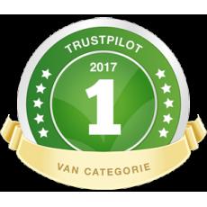 Wederom nummer 1 klant tevredenheid Trust Pilot
