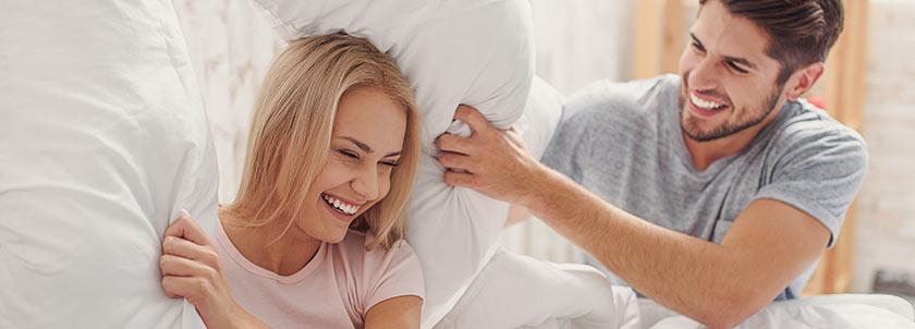 Beste hoofdkussen kiezen bij uw matras